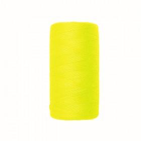 Fil à coudre 500 mts - jaune fluo