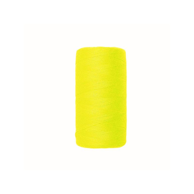 Fil à coudre jaune fluo