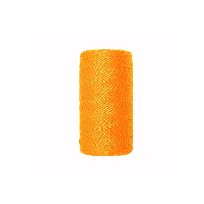 Fil à coudre 500 mts - orange fluo
