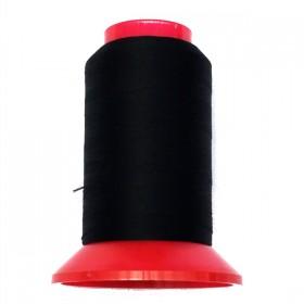 Fil mousse pour tissus élastiques noir