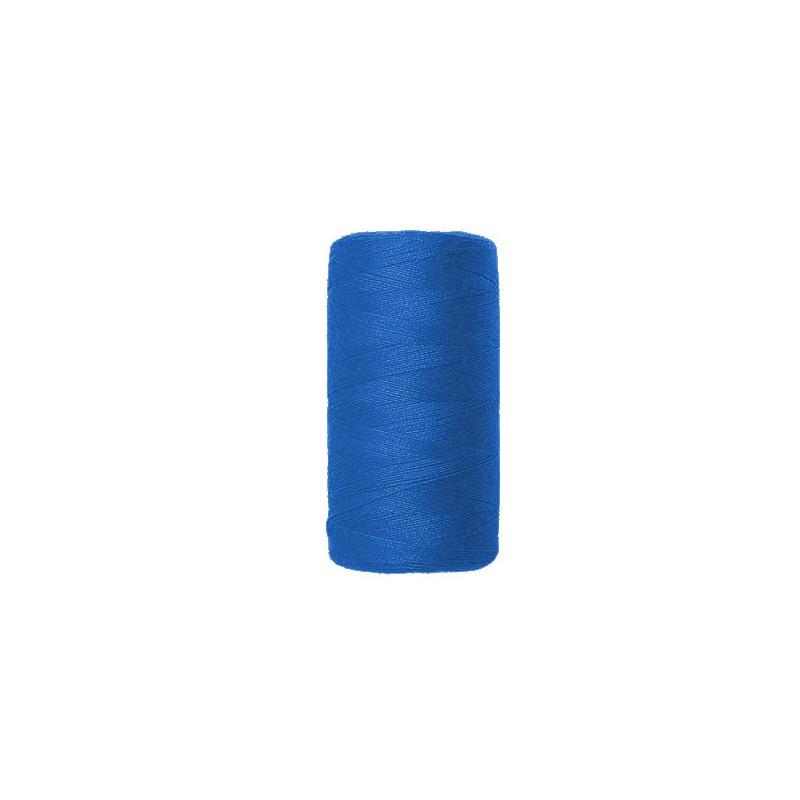 Fil à coudre bleu