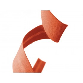 biais polycoton - orange