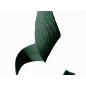 biais polycoton - vert ficus