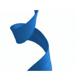 biais polycoton - bleu