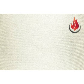 Lycra® brillant non-feu M1- blanc