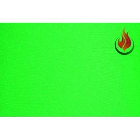 Lycra® brillant non-feu M1- vert fluo