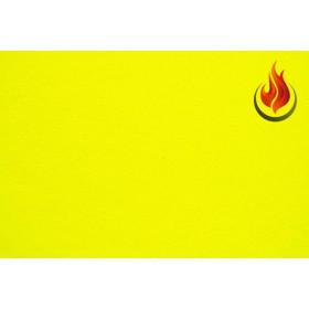 Lycra® brillant non-feu M1- jaune fluo