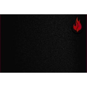 Lycra® brillant non-feu M1- noir