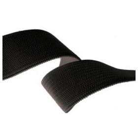 Élastique souple 15 mm noir