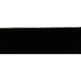 ruban coton 15 mm -rouleau noir