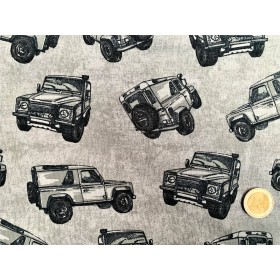French Terry Jeeps gris
