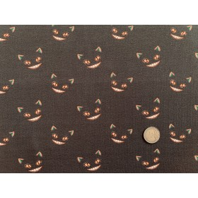 Jersey Coton Ghots Cats Brown