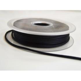 Cordon queue de rat - noir