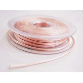 Cordon queue de rat - ivoire rosé 03