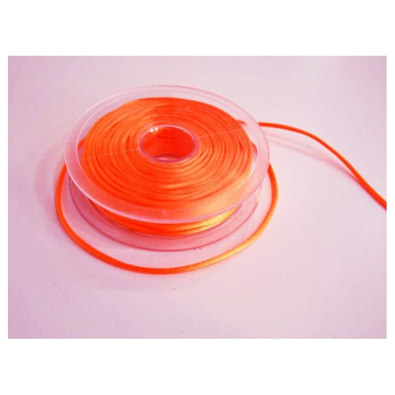 Cordon queue de rat - orange fluo 72