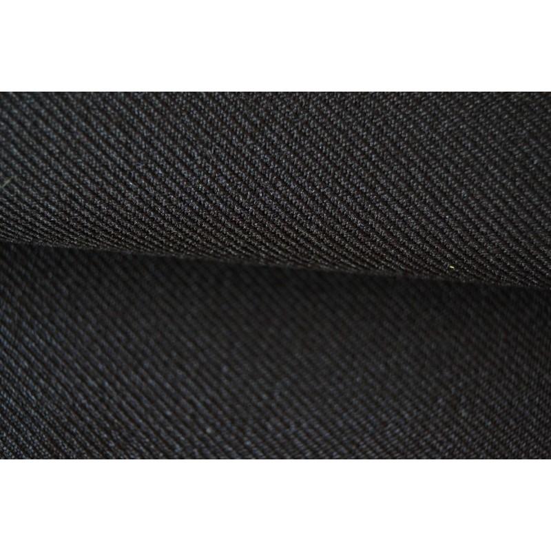 Gabardine - noire