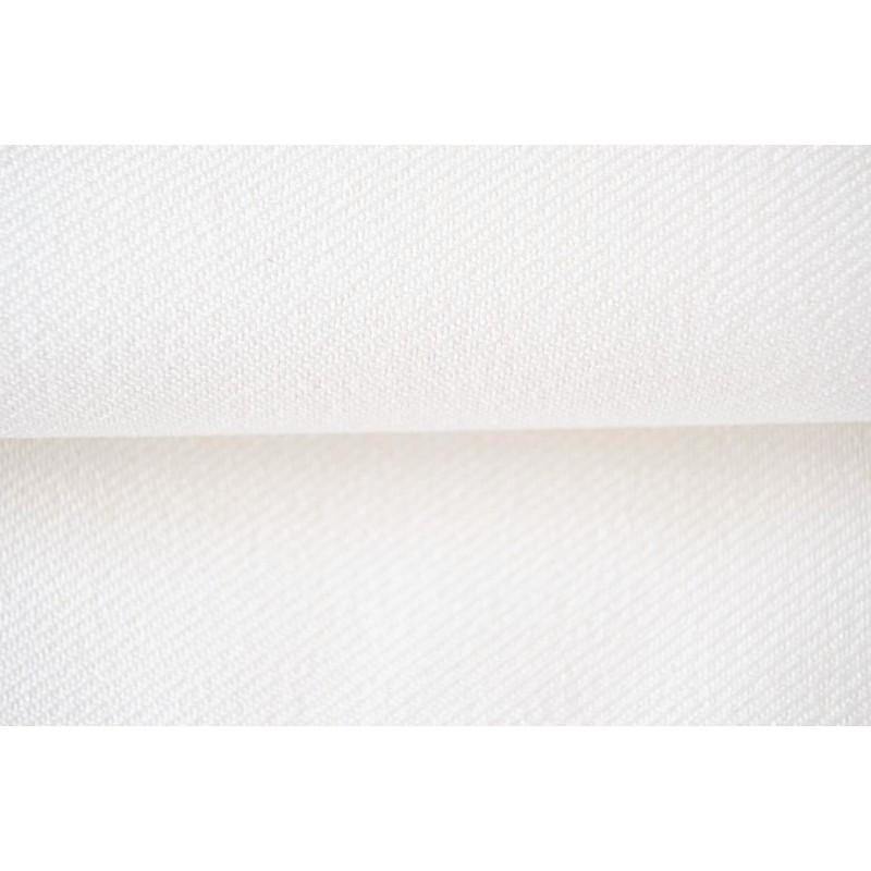 Tissu robe de communion /Gabardine - blanche